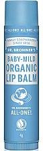 Духи, Парфюмерия, косметика Бальзам для губ детский - Dr. Bronner's Baby-Mild Lip Balm