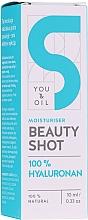 Духи, Парфюмерия, косметика Сыворотка для лица с гиалуроновой кислотой - You and Oil Beauty Shot Hyaluronic Acid