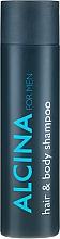 Духи, Парфюмерия, косметика Шампунь для волос и тела - Alcina Herrenpflege For Men Hair & Body Shampoo