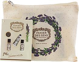 Духи, Парфюмерия, косметика Набор - Panier des Sens Travel set Relaxing Lavender (h/cr/30ml + sh/gel/50ml + b/lot/50ml)
