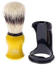 Духи, Парфюмерия, косметика Помазок для бритья 80265 на подставке, желтый - Omega