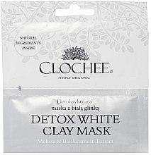 Духи, Парфюмерия, косметика Детоксицирующая маска с белой глиной - Clochee Detox Wax Clay Mask