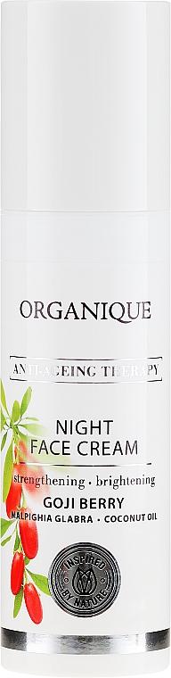 "Крем для лица, ночной ""Антивозрастной"" - Organique Goji Anti-Ageing Therapy Night Cream — фото N2"