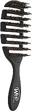 Духи, Парфюмерия, косметика Расческа для блеска волос, черная - Wet Brush Pro Flex Dry Shine Enhancer Black