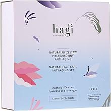 Духи, Парфюмерия, косметика Набор - Hagi Natural Face Care Anti-aging Set (cr/30ml + elixir/30ml)