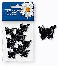 Духи, Парфюмерия, косметика Заколки для волос, 25365, черные бабочки - Top Choice