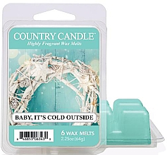 Духи, Парфюмерия, косметика Воск для аромалампы - Country Candle Baby It's Cold Outside Wax Melts