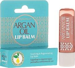 Духи, Парфюмерия, косметика Защитная помада для губ с аргановым маслом - GlySkinCare Argan Oil Lip Balm