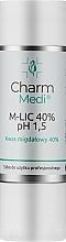 Духи, Парфюмерия, косметика Миндальная кислота 40% - Charmine Rose Charm Medi M-Lic 40% pH 1.5