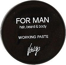 Матирующая паста для волос - Vitality's For Man Working Paste — фото N1