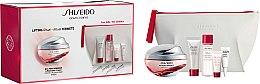 Духи, Парфюмерия, косметика Набор - Shiseido Bio-Performance Advanced Super Revitalizing (cr/50ml+cleans/f/15ml+treat/30ml+conc/5ml+eye/treat/3ml+bag)