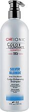 Духи, Парфюмерия, косметика Оттеночный шампунь - CHI Ionic Color Illuminate Shampoo Silver Blonde