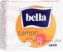 Духи, Парфюмерия, косметика Гигиенические тампоны Tampo Premium Comfort Super Plus, 8 шт - Bella