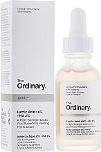Духи, Парфюмерия, косметика Пилинг с молочной кислотой - The Ordinary Lactic Acid 10% + HA 2%