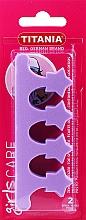 Духи, Парфюмерия, косметика Распорка для педикюра, фиолетовая - Titania
