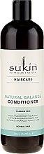 Духи, Парфюмерия, косметика Кондиционер для нормальных волос - Sukin Natural Balance Conditioner