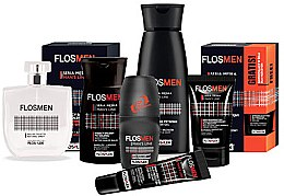 Крем для кожи вокруг глаз против морщин для мужчин - Floslek Flosmen Eye Cream For Men Anti-Wrinkle — фото N2