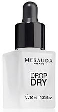 Духи, Парфюмерия, косметика Сушка для ногтей - Mesauda Milano Drop Dry 112