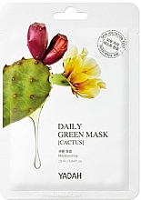 """Духи, Парфюмерия, косметика Маска для ежедневного применения """"Кактус"""" - Yadah Daily Green Mask Cactus"""