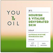 Духи, Парфюмерия, косметика Питательное мыло для обезвоженной кожи - You & Oil Nourishing Soap for Dehydrated Skin