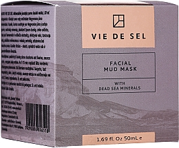 Духи, Парфюмерия, косметика Маска для лица - Vie De Sel Facial Mud Mask