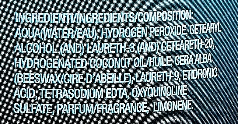 Оксидант перекиси водорода 40vol 12% - H.Zone Option Oxy — фото N3