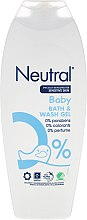 Духи, Парфюмерия, косметика Детский гель для ванны - Neutral Baby Bath & Wash Gel