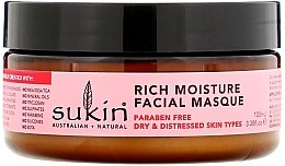 """Духи, Парфюмерия, косметика Интенсивно увлажняющая маска для лица """"Шиповник"""" - Sukin Facial Masque"""
