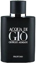 Духи, Парфюмерия, косметика Giorgio Armani Acqua di Gio Profumo - Духи (тестер с крышечкой)