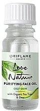 Духи, Парфюмерия, косметика Очищающее масло с органическим чайным деревом и лаймом - Oriflame Love Nature Purifyng Face Oil