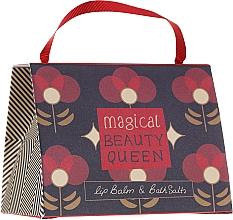 Духи, Парфюмерия, косметика Набор - Bath House Barefoot & Beautiful Magical Beauty Queen (lip/balm/15g + b/salt/100g)