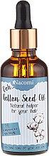 Духи, Парфюмерия, косметика Масло для волос из семян хлопка с пипеткой - Nacomi Cotton Seed Oil