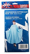 Духи, Парфюмерия, косметика Парикмахерская накидка, голубая - Ronney Professional Cutting Cape