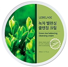 Духи, Парфюмерия, косметика Очищающий крем для лица - Lebelage Green Tea Balancing Cleansing Cream