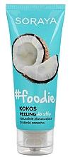 Духи, Парфюмерия, косметика Пилинг для ног - Soraya #Foodie Coconut Foot Peeling