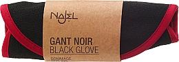 Мочалка отшелушивающая - Najel Black Kassa — фото N1