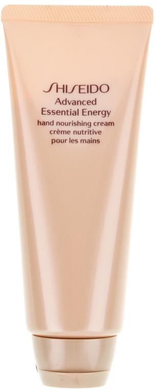 Крем для рук - Shiseido Advanced Essential Energy Hand Nourishing Cream  — фото N2