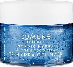Увлажняющая и восстанавливающая кислородная маска для лица - Lumene Nordic Hydra 72H Gel Mask — фото N2
