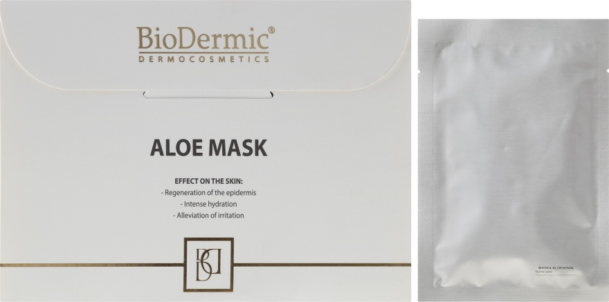 Маска для лица с алоэ - BioDermic Aloe Mask — фото N1