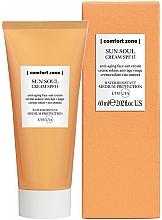 Духи, Парфюмерия, косметика Крем солнцезащитный для лица - Comfort Zone Sun Soul Face Cream SPF 15