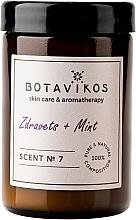 Духи, Парфюмерия, косметика Botavikos Zdravets&Mint - Ароматическая свеча