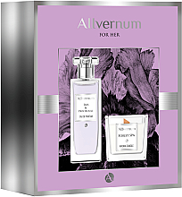 Духи, Парфюмерия, косметика Allvernum Iris & Patchouli - Набор (edp/50ml + candle/100g)