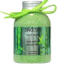 Духи, Парфюмерия, косметика Соль для джакузи, зеленый чай - BingoSpa
