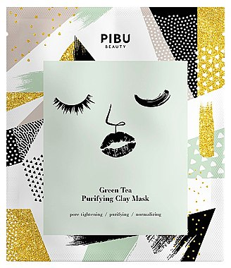 Набор - Pibu Beauty Green Tea Purifying Clay Mask Set (f/mask/5x18g) — фото N2