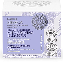 Духи, Парфюмерия, косметика Восстанавливающий мягкий желе-скраб для лица - Natura Siberica Organic Certified Mild Reviving Jelly-Scrub