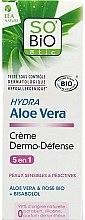 """Духи, Парфюмерия, косметика Защитный крем для лица """"Алоэ Вера"""" - So'Bio Etic Hydra Aloe Vera Creme"""