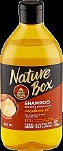 Духи, Парфюмерия, косметика Увлажняющий шампунь с маслом макадамии - Nature Box Macadamia Oil