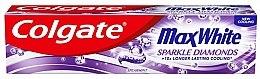 Духи, Парфюмерия, косметика Зубная паста - Colgate Max White Sparkle Diamonds