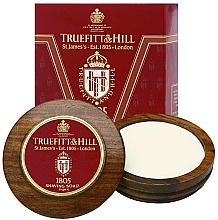 Духи, Парфюмерия, косметика Truefitt & Hill 1805 - Люкс-мыло для бритья в деревянной чаше