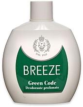 Духи, Парфюмерия, косметика Breeze Green Code Deo Squeeze - Парфюмированный дезодорант